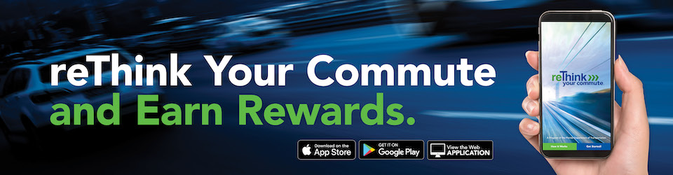 reThink your commute and earn rewards